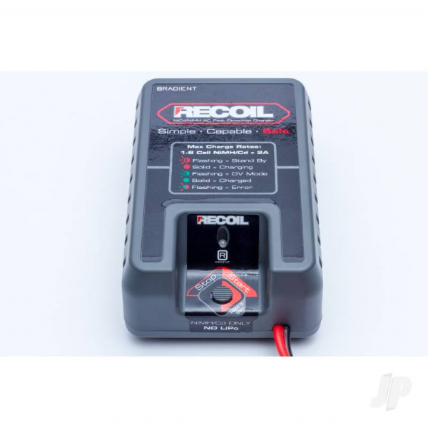 Radient Recoil NiMH 20W Peak Charger (UK) RDNA0063